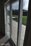 View showing wrap around deck