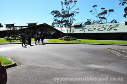 Zoo Entrance from Parking