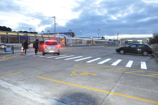 Drop off and Short Term Parking