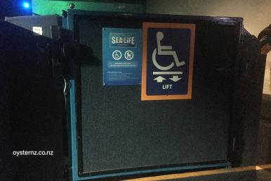 Internal Lift to access floors 2